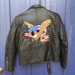 UNIK Leather with Eagle and Flag 🇺🇸